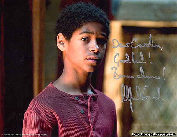 Article 17 - ♥ Alfie Enoch (alias Dean Thomas) ♥
