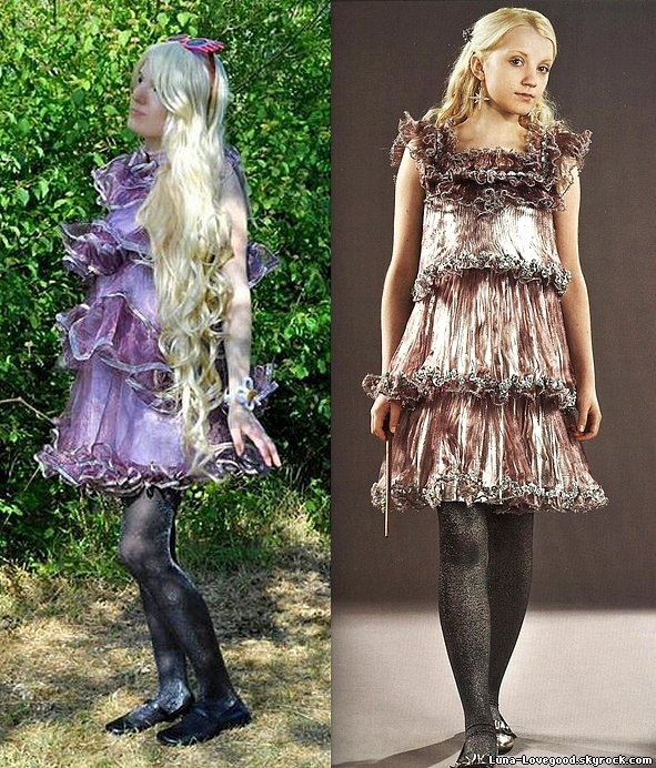 Article 9 -  ϟ  Mes cosplays de LUNA LOVEGOOD et de NYMPHADORA TONKS ϟ