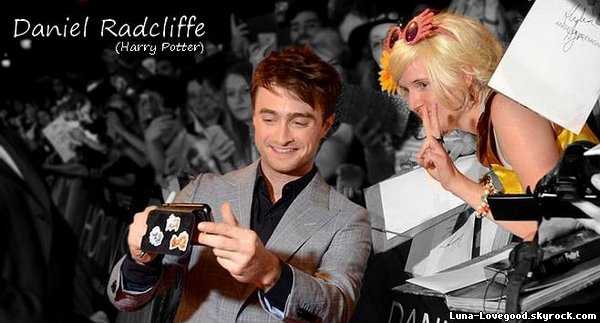 "Article 5 - ♥ Ma rencontre avec DANIEL RADCLIFFE (Harry Potter) à l'AVANT PREMIERE ""HORNS"" à PARIS le Mardi 16 septembre 2014 ♥"