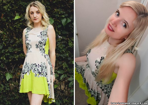 ★ FASHION, STYLE, LOOK & OUTFIT by Evanna LYNCH (2/2) ★