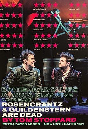 """♥ Ma rencontre avec Daniel Radcliffe - """"Rosencrantz And Guildenstern are dead"""" - Théâtre THE OLD VIC à Londres ♥"""
