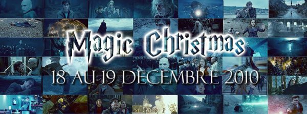 ϟ MAGIC CHRISTMAS 2010 : Ma première convention dans le Monde de Harry Potter ϟ