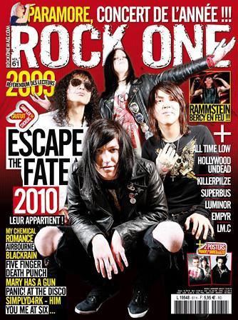 AMNESIA dans le rock one n°61