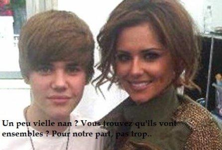 Justin Bieber flirt avec .... Cheryl Cole  ! ?