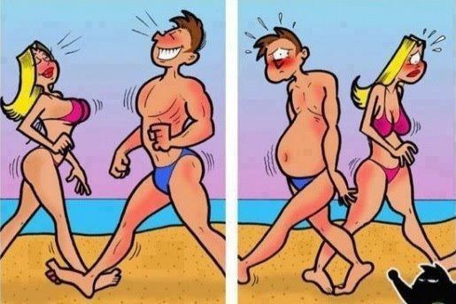 Ah ah!!! On vous y prendra sur la plage !!!!!!