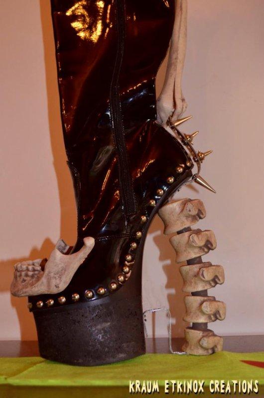 Des bottes auxquelles il ne faut pas prendre la tête!!