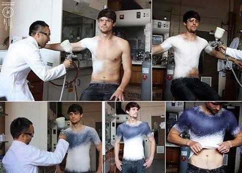 Tee shirt  moulant !!!!!