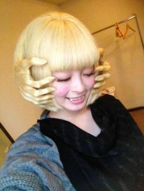 Enfin une coiffure qui tient....!!!