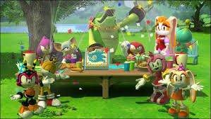 Sonic X dimensions episode 1 l'anniversaire de sonic