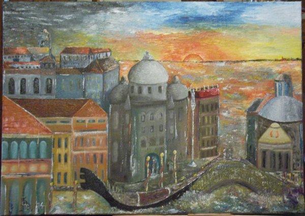 Visions brèves de Venise ( huile 2014)