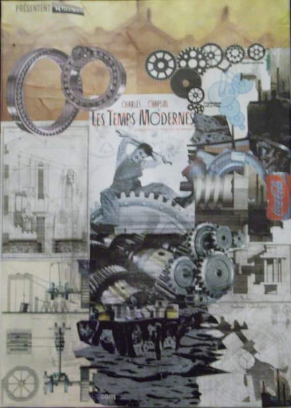 Les Temps Modernes.... Collage 2015