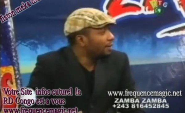 émission zamba zamba tournée werrason Europe canada