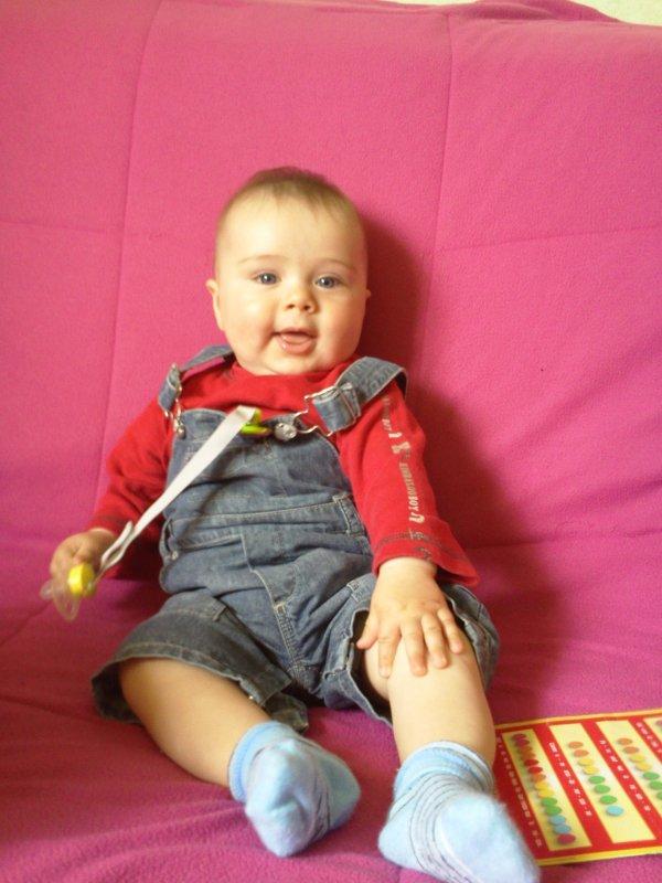 Vincent 7 mois