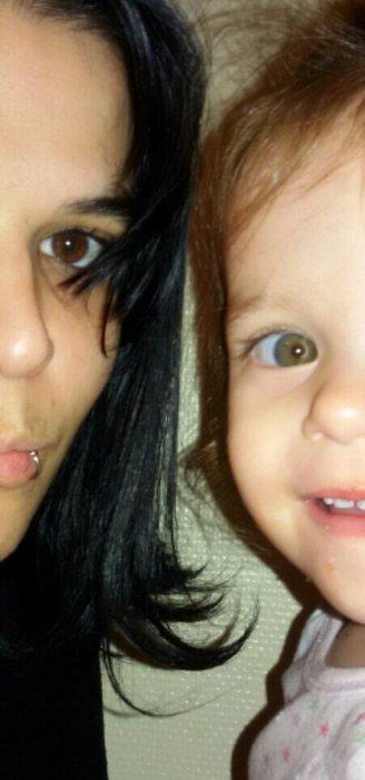 """Maman d""""une petite princesse & Fiere de l'etre ✌Ma fille ma vie mon bonheur  ♡♡"""
