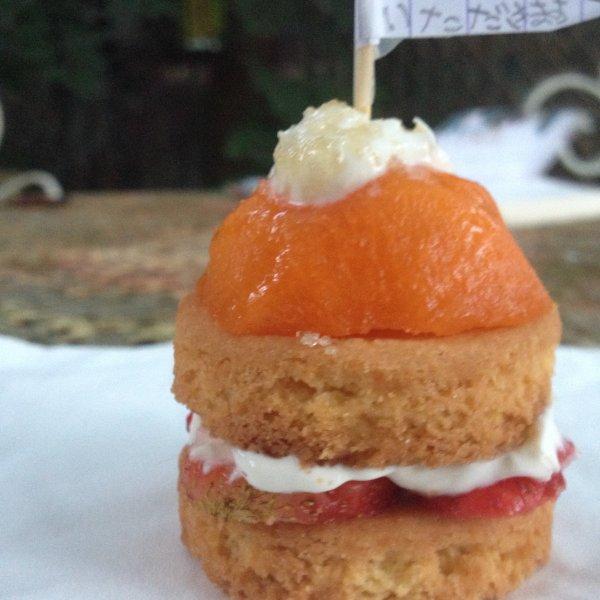Mini gâteau crooop bon! *w*