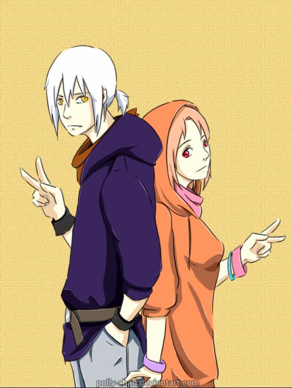 """Chapitre 6: """"Eh en fait Sasuke ! T'as le bonjour de ton frère. """""""