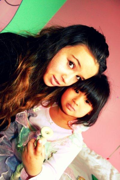 Ma petite chérie ♥ Son sourrire ne vaut meme pas tout l'or du monde ♥  (Aa)