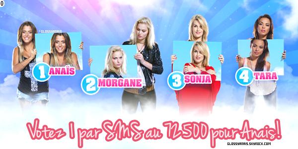 Les nominées de cette semaine: Anais, Morgane, Sonja, Tara.
