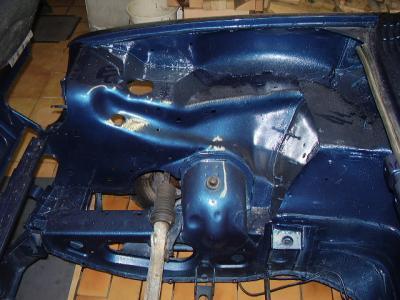 compartiment moteur restauration de ma renault 5 alpine turbo de 1982. Black Bedroom Furniture Sets. Home Design Ideas