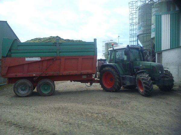Ensilage d'herbe a la Haudissais
