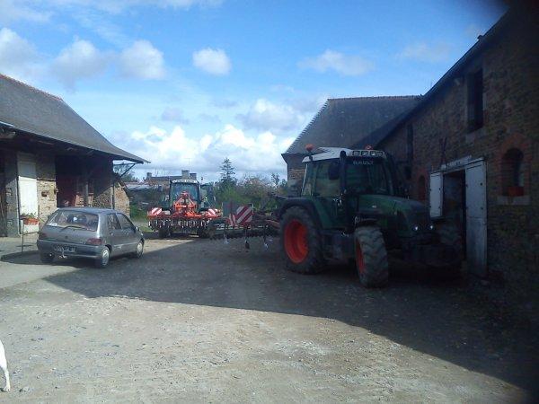 semis de maïs 2012 !!!