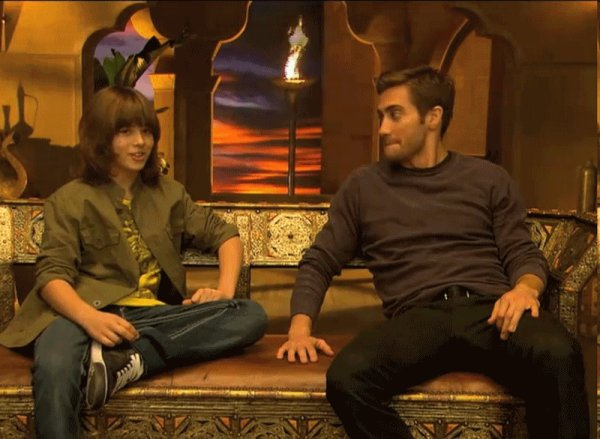"""Jake a été interviewé par Disney afin de promouvoir la sortie du DVD de """" Prince Of Persia """""""