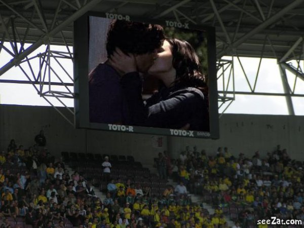 camera kiss