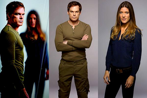 (Re)découvrez quelques photos promotionnelles de la saison 7 de Dexter Personnellement, j'ai un coup de coeur pour la toute dernière !  Il me tarde de voir la manière dont la relation Dexter/Debra va être exploitée.  (: