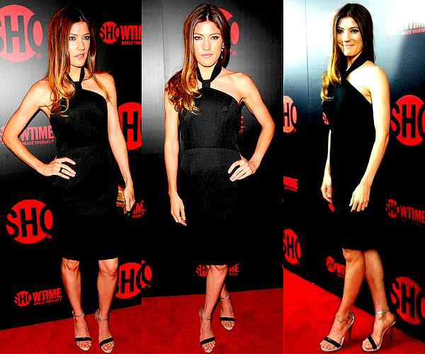 """Le 22/09 : Jennifer Carpenter était à la pré-party des """"Emmy Awards 2012"""", à Hollywood"""