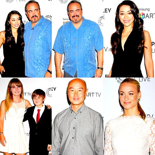 """Le 12/09 : Le cast' de Dexter était réuni pour le Paley Fest Previews : """"Fall Farewell""""Il s'agit sans doute de l'une des dernières apparitions du casting réuni au grand complet (ou presque), profitons donc bien de ces jolis photos et de cette merveilleuse équipe que nous aurons suivi pendant près de huit années. L'évènement s'est déroulé à Beverly Hills. Les acteurs y ont parlé de la fin de la série et de la façon dont se sont déroulés les derniers jours de tournage. Retrouver la mini-conférence en intégralité dans la vidéo à la fin de l'article. :)"""