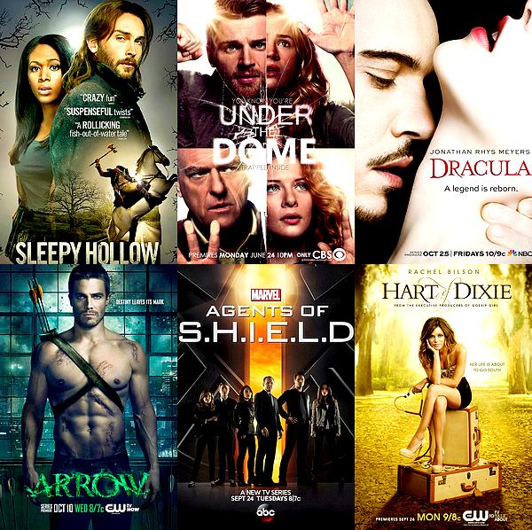 SERIES Fantastique, thriller ou comédie, voici quelques unes de mes séries préférées  /!\ Je précise que les séries ci-dessous ne sont pas classées par ordre de préférence ! Je suis ces séries, certaines avec plus d'intérêt que d'autres.