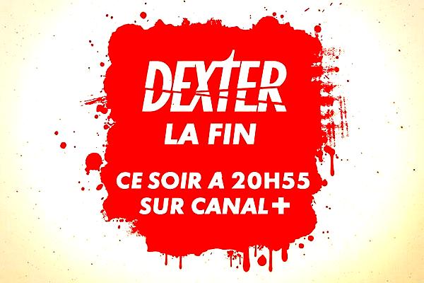 Les deux derniers épisodes de la saison 8 / de la série ont été diffusés hier soir sur Canal +  Et voilà, la diffusion française de la huitième et dernière saison de Dexter s'est achevée hier avec les deux tout derniers épisodes. Un moment fort en émotion et un final qui m'a une fois de plus fait verser quelques larmes. Environ un mois et demi après avoir découvert la fin en streaming, cela reste toujours aussi difficile à digérer... Avez-vous (re)regardé la saison 8 sur Canal + ? Qu'en avez-vous pensé dans l'ensemble ? Et concernant le final ?
