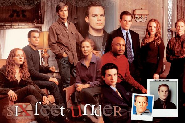 SERIES Découvrez « SIX FEET UNDER », la précédente série de l'acteur Michael C. Hall !
