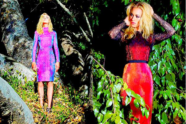 La superbe Yvonne Strahovski vient de réaliser un photoshoot pour « Spirit & Flesh »