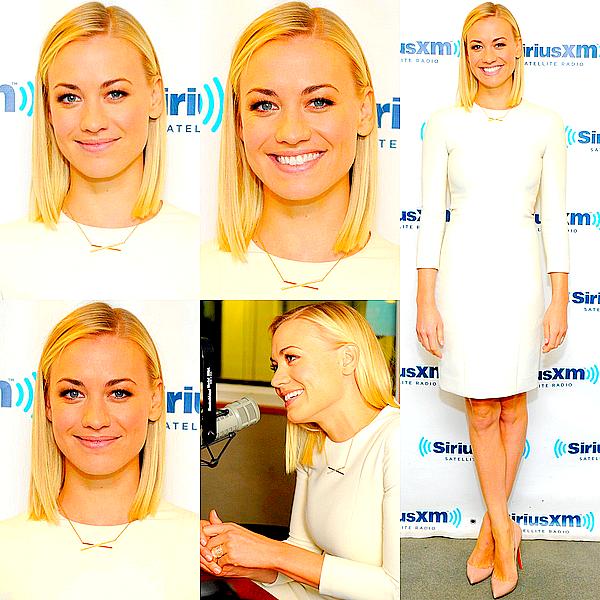 Le 21/01 : Yvonne s'est rendue à la radio Sirius XM pour promouvoir « I, Frankenstein »