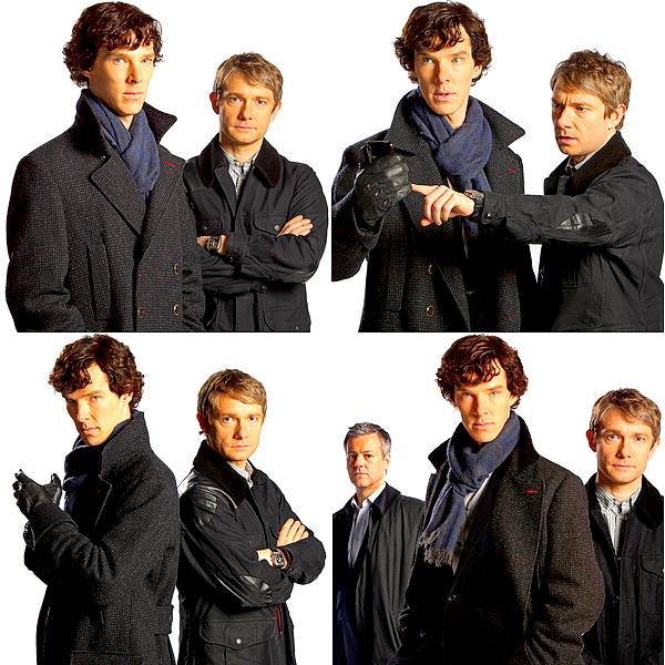 (Re)découvrez les photos promotionnelles ainsi que les trailers de la saison 1 de Sherlock