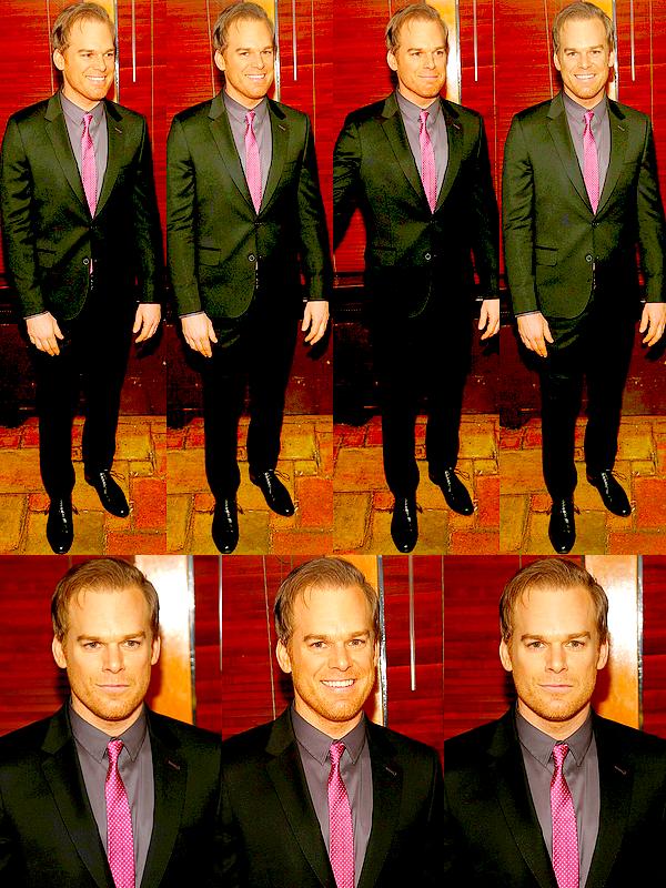 Le 06/04 : Michael était à l'after-party donnée après la représentation de « The Realistic Joneses », à New York