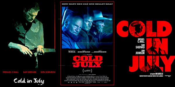 Découvrez la bande-annonce du prochain film de Michael : le thriller « Cold In July » !