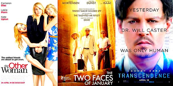 CINEMA   Ma sélection cinématographique concernant les sorties des mois de Mai et JuinComme tous les deux mois, voici aujourd'hui l'article sur quelques sorties qui me tentent bien pour les 8 semaines à venir. Pas de grosse attente ce coup-ci mais des films   d'univers plutôt variés   succeptibles de me plaire notamment de par leurs castings.   Bien que je ne l'ai pas mis ci-dessous, je rajouterai également à cette liste « Cristeros » pour son scénario plutôt intéressant et le plaisir de revoir Andy Garcia à l'écran (et Peter O'Toole, décédé il y a peu).