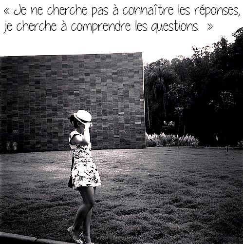 « Ce sont les questions qui font le philosophe.  » Paul Valéry