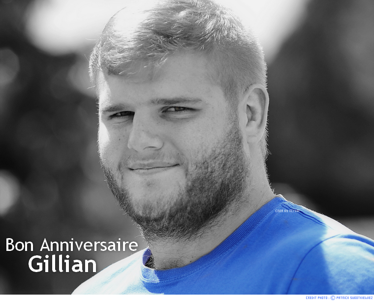 ||| BON ANNIV' GILLIAN GALAN