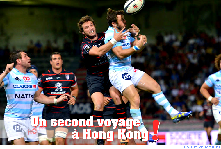 ||| TOULOUSE - RACING à HONG KONG > ROUND 2 ANNONCÉ