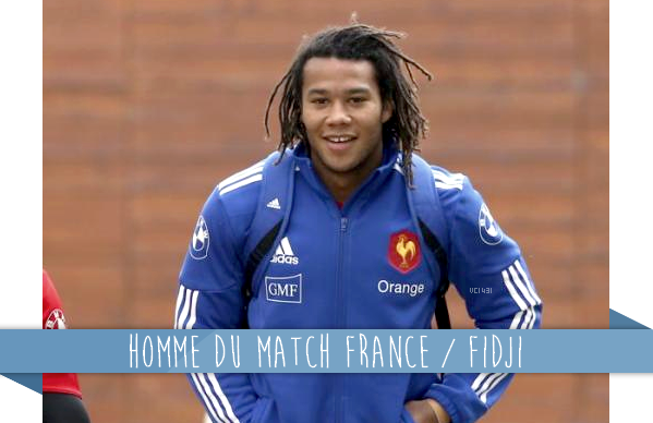 ||| 1er test-match d'Automne 2014 > FRANCE / FIDJI