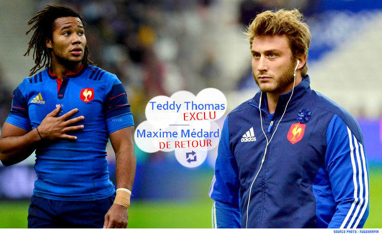 ||| Maxime Médard remplace Teddy Thomas !