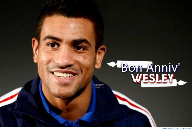 ||| BON ANNIV' WESLEY