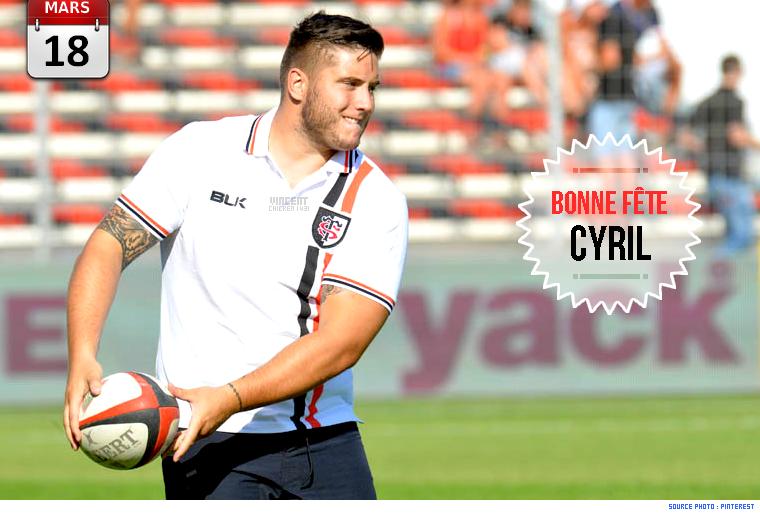 ||| BONNE FÊTE CYRIL