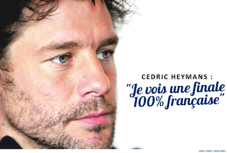     Une finale 100% française pour C. Heymans