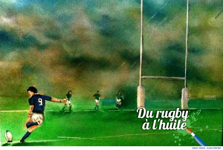 ||| Le rugby en peinture ...