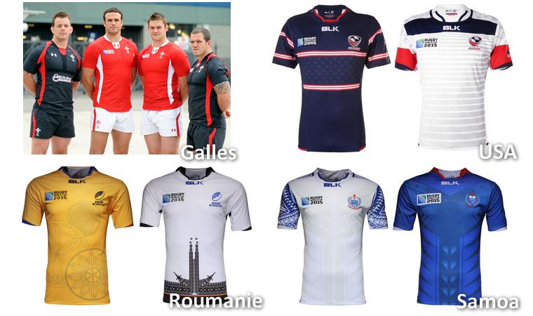 ||| Les maillots pour la CDM 2015 ...