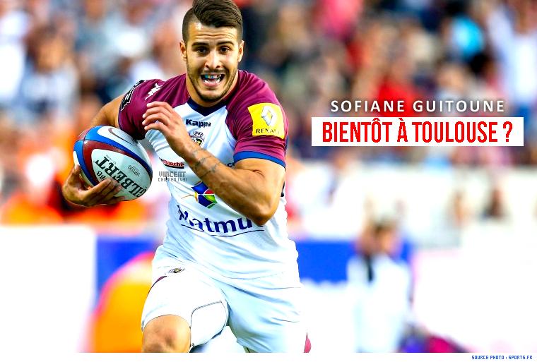 ||| S. Guitoune, en contact avec le Stade Toulousain.